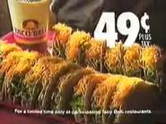 Taco bell eruowood ad 1989