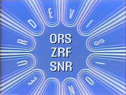 Eurdevision ORS ZRF SNR ID 1981