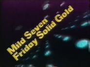 TBG Pearl slide - Mild Seven Friday Solid Gold - 1987 - 2