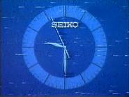 TGB Pearl Seiko clock 1985