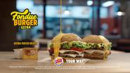 BK MS Fondue Burger Extra MS TVC 2019