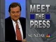 NBC promo - Meet the Press - 1994