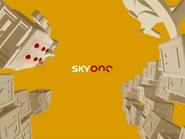 Sky One ID - Children's programming - Yellow-Red - 2004
