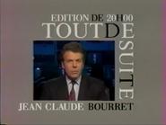 Télécinq promo - Bourret - 1991