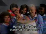 Hanes TVC - September 7, 1986