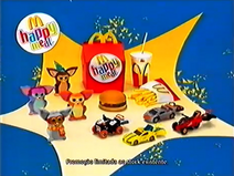 McDonald's Happy Meal Furby Action Man Atom MS TVC 2007