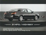 2007 Toyota Avalon URA TVC 2006 - 1