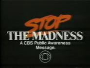 CBS PSA - Stop the Madness - 12-21-1987