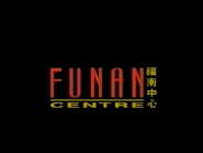 CH5 sponsor billboard - Funan Centre - 1996
