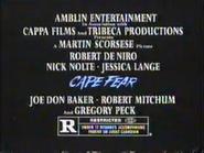 Cape Fear movie TVC - URA - 1991 - 2