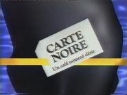 MV1 sponsorship billboard - Carte Noire - 1990