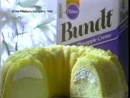 Pillsbury Bundt Pineapple Creme Cake TVC - 10-26-1986