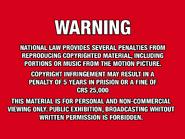 Shawston HV 1980 warning Laserdisc