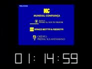 SRT clock - Mundial Souto Mayor Credito Predial - Banco Motta - 1998