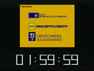 SRT clock - Grupo Motta bancos - July 21, 1998 - 2