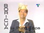 Telemundo bumper - Boricua - 1996