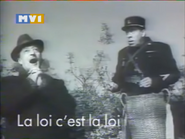 MV1 La Loi C'est La Loi promo 1990 A
