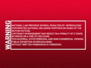 Shawston HV 1995 warning VHS