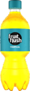 Fruit Flush Tropical PET Bottle