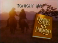 NBC promo - Danielle Steel's Palomino - 1994