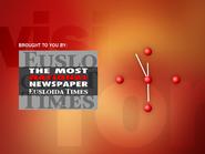 ECN clock - Eusloida Times - 1997