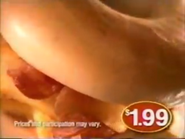 McDonald's Bacon Egg and Cheese Bagel EVM TVC 2001 - 3
