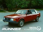 Delta Runner Kalandian ad 1986