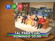 Telefe promo tal para cual 1999