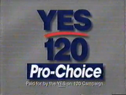 Planned Parenthood and League of Women Voters of Nashwington - Yes 120 Pro-Choice - URA TVC 1991 - Part 2