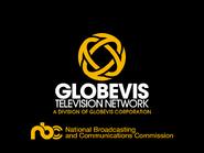 Globevis startup slide - 1979
