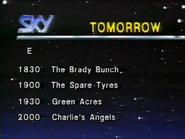 Sky lineup 1987 1