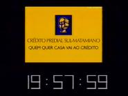SRT - Crédito Predial Sul-Matamiano clock 1997