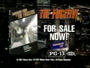 Blockbuster Video Warner Home Video The Fugitive VHS URA TVC 1994