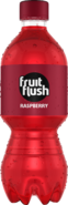 Fruit Flush Raspberry PET Bottle