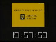 SRT clock - Credito Predial - 1998 - 2