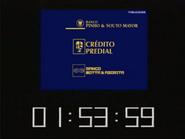 SRT clock - Souto Mayor Credito Predial and Motta e Azorita - 1998