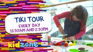 TVNE Kidzone promo - Tiki Tour - 2015