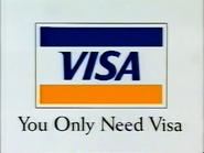 CH5 sponsor billboard - Visa - 1997