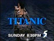 CH5 promo - Titanic - 1997
