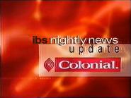 IBS sponsor billboard - Nightly News Update - Colonial - 1999
