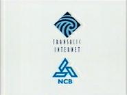 CH5 sponsor billboard - Transalic Internet and NCB - 1996