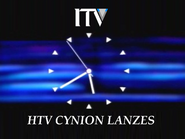 HTV clock 1993 - Cynion Lanzes version