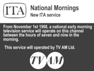 TV AM preview 1968