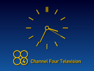 Channel 4 clock 1980