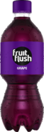 Fruit Flush Grape PET Bottle