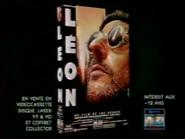Gaumont Columbia Tristar - Leon movie VHS TVC 1996