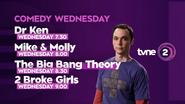 TVNE2 promo Comedy Wednesday 2016