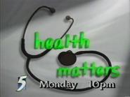 CH5 promo - Health Matters - 1996