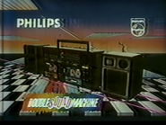 Philips Double Sound Machine PS TVC 1987