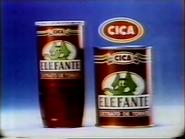 Megahertz CICA Elefante sponsor 1987